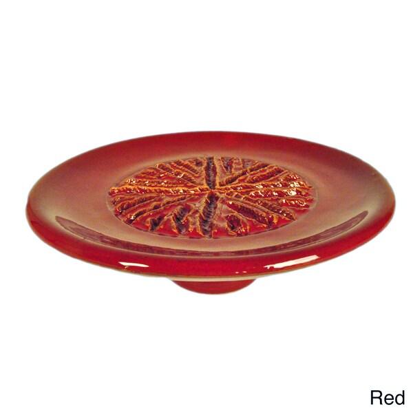 Terafeu Hand Made Pottery Red Garlic Grater
