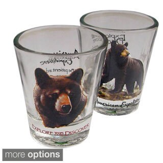 American Expedition Wildlife Shot Glasses (Set of 2)