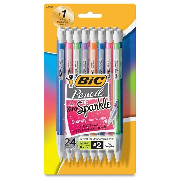 BIC Medium Point 0.7 mm Mechanical Pencils (Pack of 24)