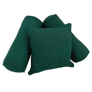Blazing Needles Twill Pillow Set (Set of 3)