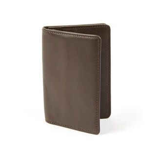 Brown Leather Card Wallet