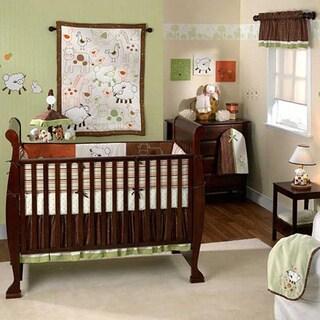 Lambs & Ivy 6-piece Crib Bedding Set in Doodle Doo