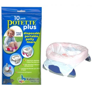 Kalencom Potette Plus On the Go Potty Liner Refills (Pack of 10)