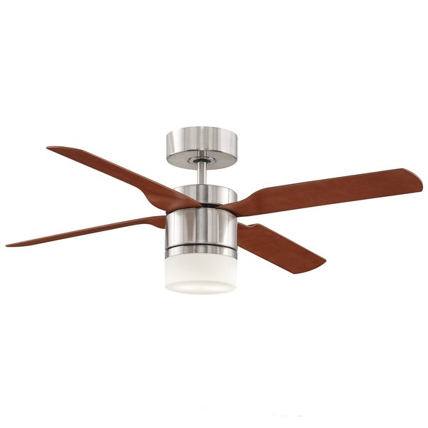 Fanimation Multimax 52-inch Brushed Nickel 2-light Ceiling Fan