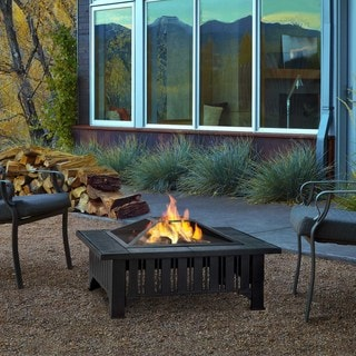 Real Flame Lafayette Outdoor 33.6-inch Fire Pit