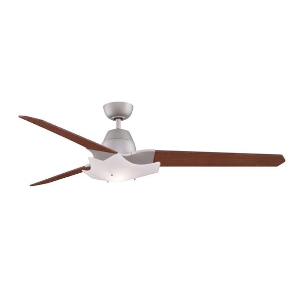 Fanimation Wylde 72-inch Satin Nickel 2-light Ceiling Fan