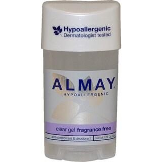 Almay Hypoallergenic Clear Gel Fragrance Free Deodorant