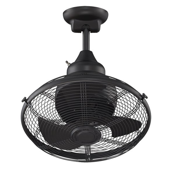 Fanimation Extraordinaire 18-inch Black Ceiling Fan