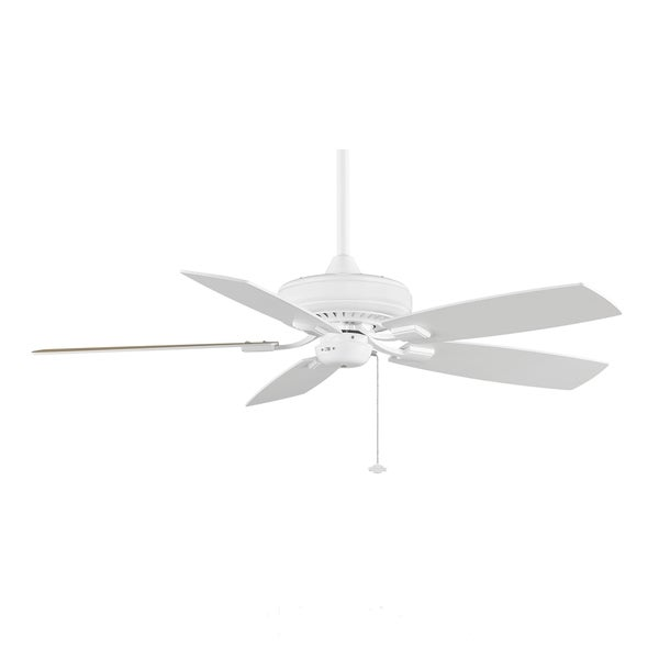 Fanimation Edgewood Decorative 52-inch White Ceiling Fan