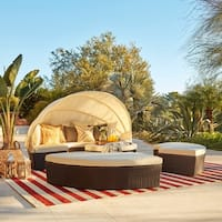 La Mesa 4-piece Cabana/ Canopy Set by Christopher Knight Home