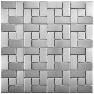 Metal Tile Overstock Com Shopping Floor Backsplash