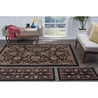 Alise Lagoon 3-piece Transitional Area Rug Set - 5' x 7'