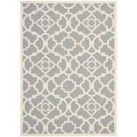 Waverly Sun N' Shade Lovely Lattice Grey Area Rug by Nourison - 10' x 13'