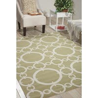 Waverly Sun N' Shade Connected Citrine Area Rug by Nourison - 10' x 13'