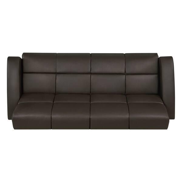 Fantastic Shop Handy Living Turco Convert A Couch Brown Renu Leather Frankydiablos Diy Chair Ideas Frankydiabloscom