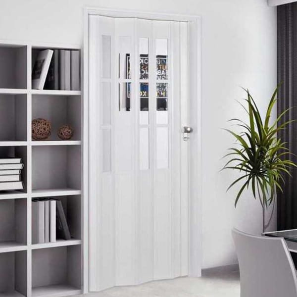 Shop homestyle capri 32x80 inch white folding door free - Used exterior doors for sale near me ...