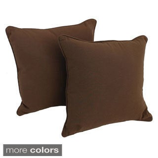 Pine Canopy Ashley 18-inch Twill Throw Pillow (Set of 2) (5 options available)