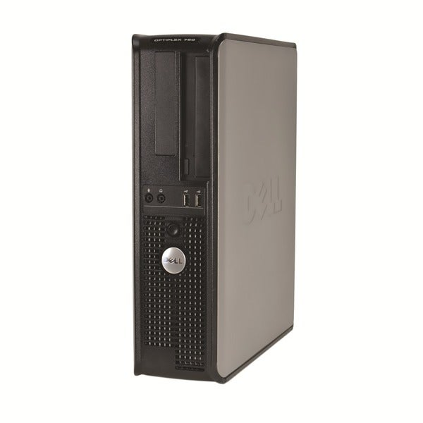 Dell Optiplex 760 Intel Core 2 Duo 2.8GHz CPU 4GB RAM 750GB HDD Windows 10 Pro Desktop Computer (Refurbished)