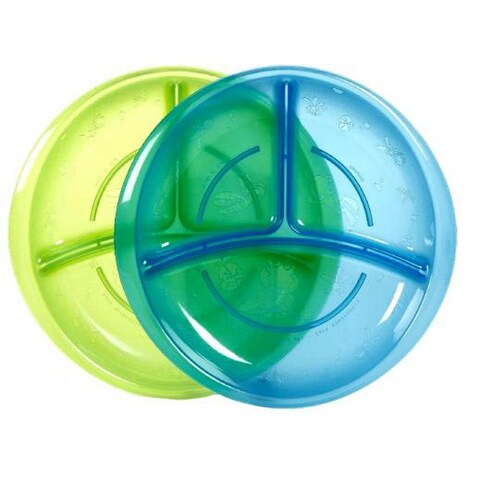 Nuby Section Plates (Pack of 2)