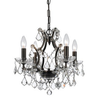 Crystorama Filmore Collection 4-light Vibrant Bronze Chandelier