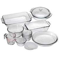 Metal Glass Bakeware