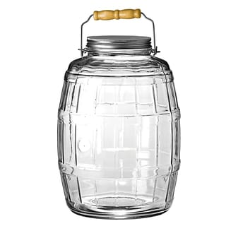 Anchor Hocking 2.5-gallon Glass Barrel Jar