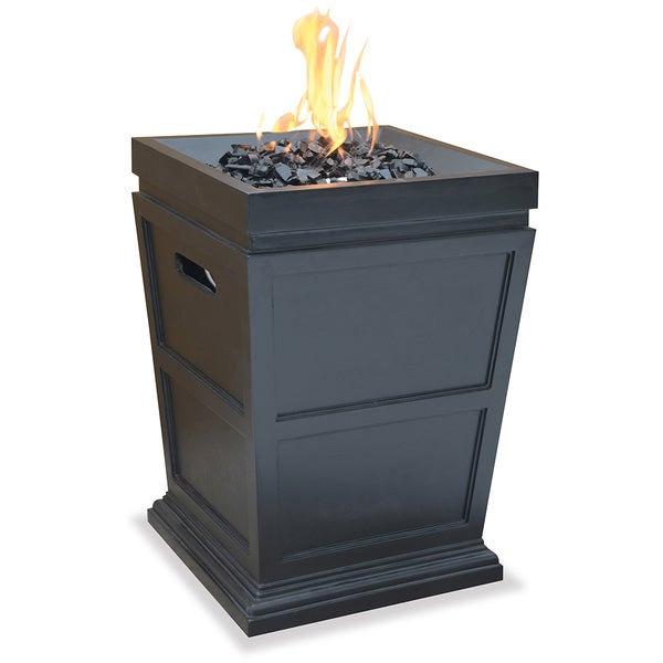 Shop Blue Rhino Lp Gas Powered Column Firepit Free