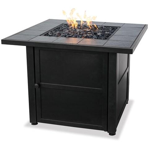 Uniflame Ceramic Tile LP Gas Fire Pit