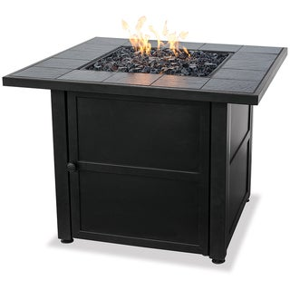 Uniflame Ceramic Tile LP Gas Fire Pit