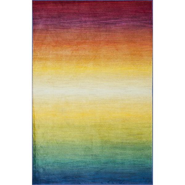 Laurent Rainbow Rug - 5'2 x 7'7