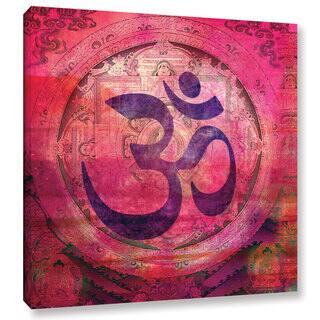 Elena Ray 'Om Mandala' Gallery-wrapped Canvas|https://ak1.ostkcdn.com/images/products/7873843/P15257438.jpg?impolicy=medium