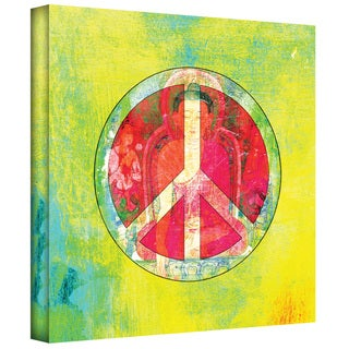 Elena Ray 'Peace Sign' Gallery-wrapped Canvas