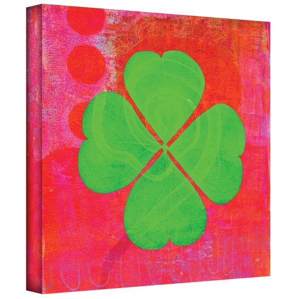 Elena Ray 'Shamrock' Gallery-wrapped Canvas