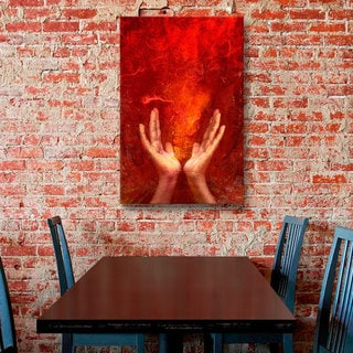 Elena Ray 'Chakra Fire' Gallery-wrapped Canvas