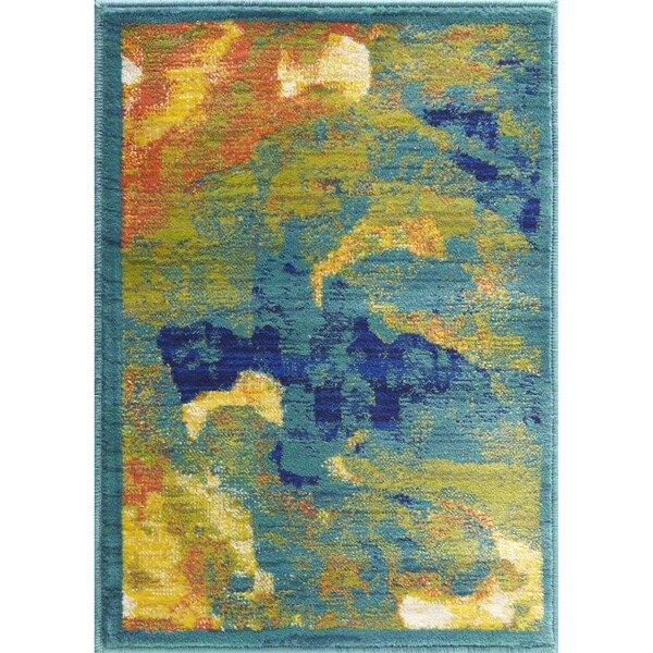 Shop Laurent Tropical Island Rug 2 X 3 Free Shipping