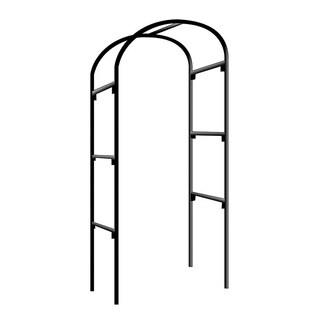 Black Steel Rose Arch