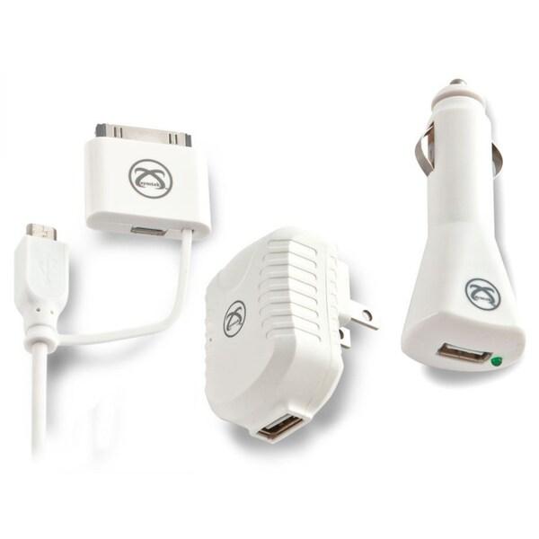 Symtek TekPower Universal USB Charging Trio