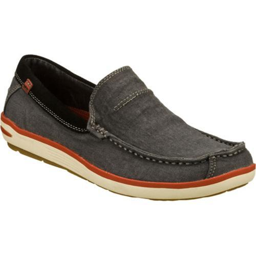 Men's Skechers Relaxed Fit Naven Spencer Navy/Navy - Thumbnail 0