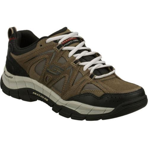 Men's Skechers Relaxed Fit Rig Brown/Black