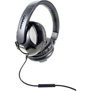 SYBA Multimedia Oblanc U.F.O. Black Stereo Headphone W/In-line Microp