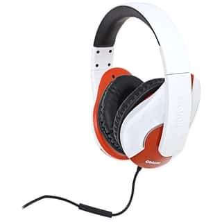 SYBA Multimedia Oblanc Shell (White/Red) Stereo Headphone w/In-line M https://ak1.ostkcdn.com/images/products/7875426/P15258777.jpg?impolicy=medium