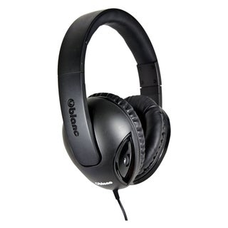 SYBA Multimedia Oblanc Cobra Black Subwoofer Headphone W/In-line Micr