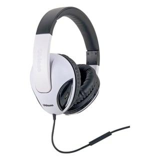 SYBA Multimedia Oblanc Cobra (White Black) Subwoofer Headphone W/In-l