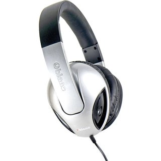 SYBA Multimedia Oblanc Cobra Silver Subwoofer Headphone W/In-line Mic