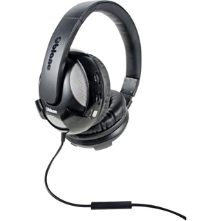 SYBA Multimedia Oblanc U.F.O. Black Subwoofer Headphone W/In-line Mic