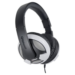 SYBA Multimedia Oblanc U.F.O. White Subwoofer Headphone W/In-line Mic