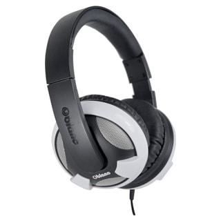 SYBA Multimedia Oblanc U.F.O. White Subwoofer Headphone W/In-line Mic