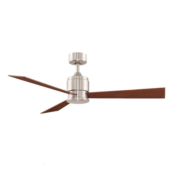Fanimation Zonix 54 Inch Brushed Nickel Ceiling Fan