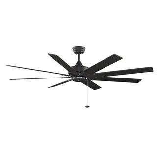 Fanimation Levon 63-inch Black Ceiling Fan