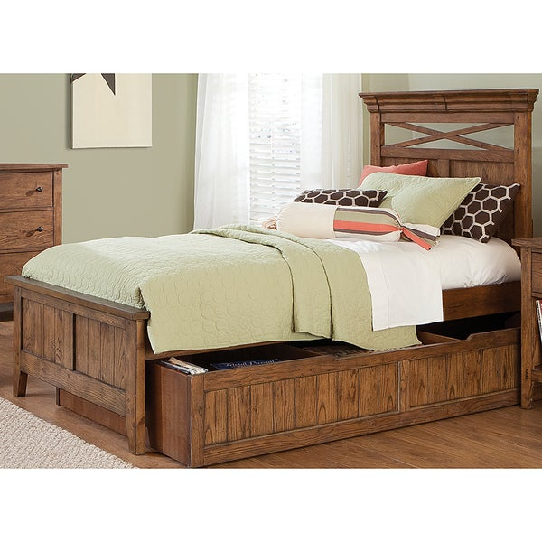 Shop Liberty Heathstone Full Bed With Twin Trundle Free